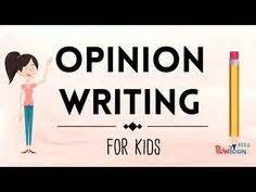 Opinion essay mentor text